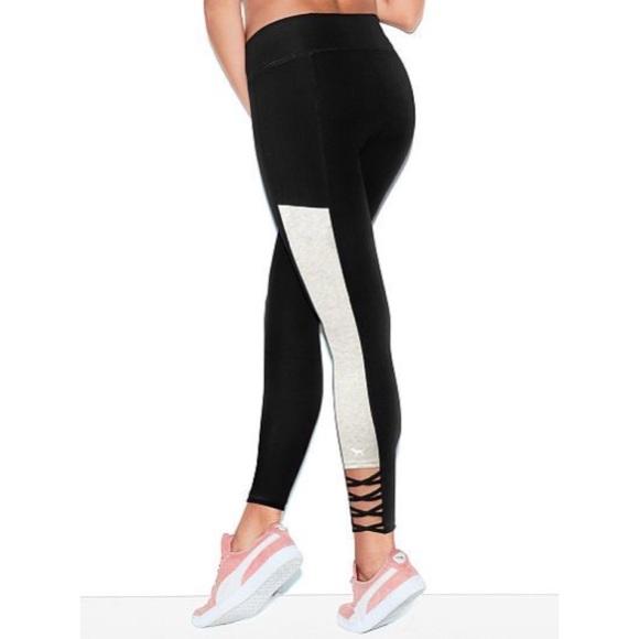 47144fa8d4d8f3 PINK Victoria's Secret Pants   Removing 531 Vs Pink Strappy Crop ...